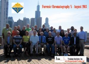 August 2013 Forensic Chromatography Class Picture